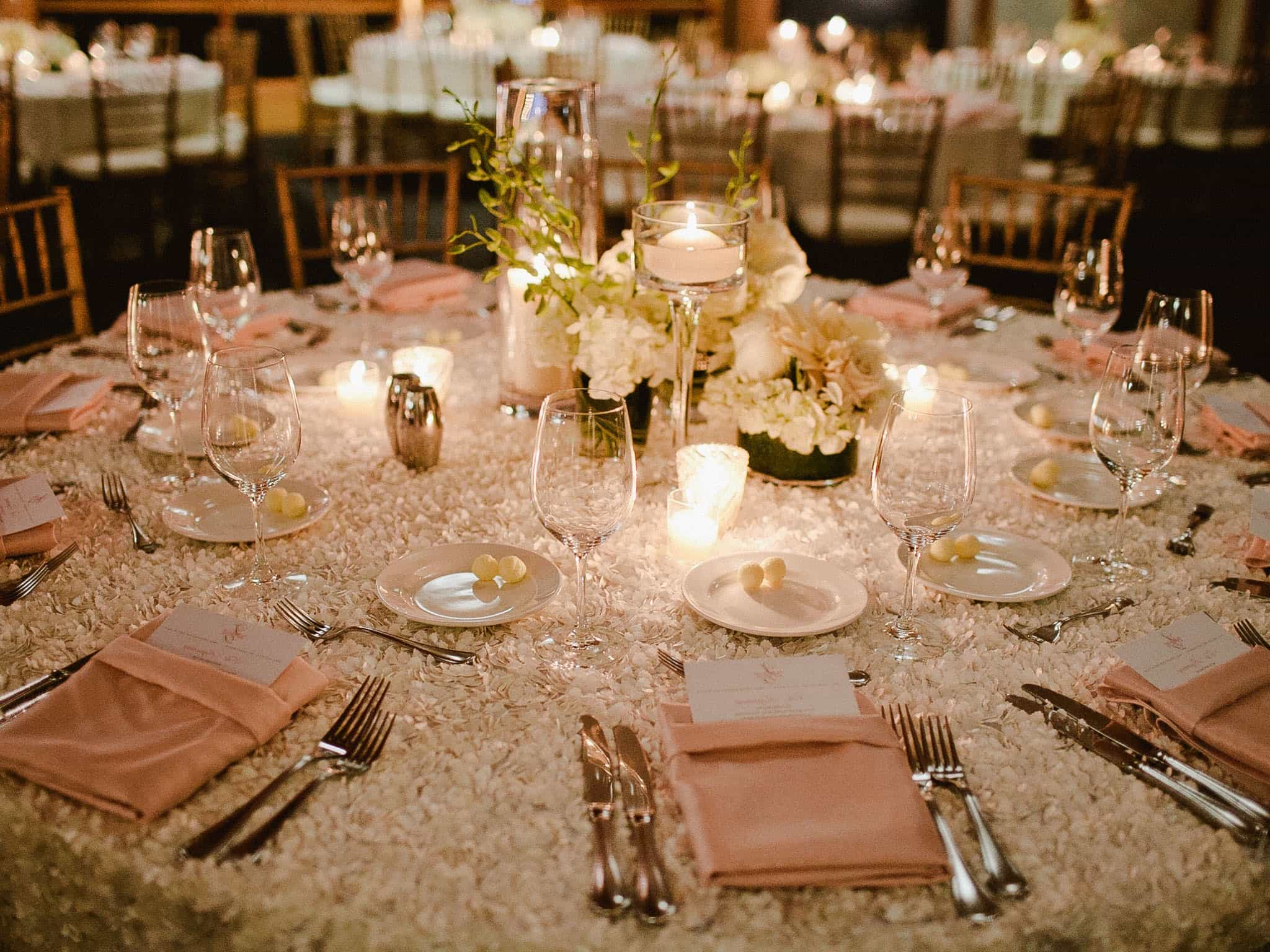 How To Ensure A Less Costly Wedding Reception Decor